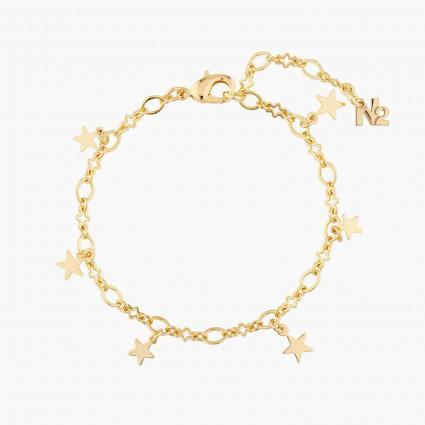 Bracelets Originaux Chaîne De Bracelet Étoile25,00€ AMCH202/1N2 by Les Néréides