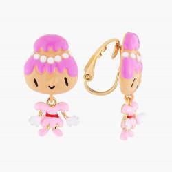 Boucles D'oreilles Originales Boucles D'oreilles Clip Lady Religieuse85,00€ AMFP101C/1N2 by Les Néréides