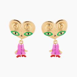 Boucles D'oreilles Originales Boucles D'oreilles Clip Tata Palmier80,00€ AMFP103C/1N2 by Les Néréides