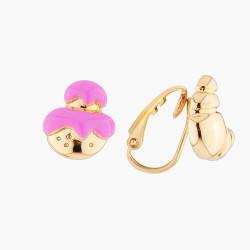 Boucles D'oreilles Originales Boucles D'oreilles Clip Asymmétriques Chou Et Croissant35,00€ AMFP105C/1N2 by Les Néréides