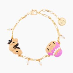 Bracelets Originaux Bracelet Fin Monsieur Et Madame Patachoux70,00€ AMFP201/1N2 by Les Néréides