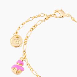 Bracelets Originaux Bracelet Charm's Religieuse, Palmier, Chou Et Croissant65,00€ AMFP202/1N2 by Les Néréides