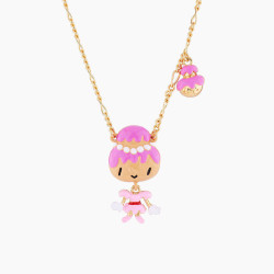 Lady Cream Puff Pendant...