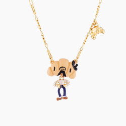 Sir Croissant Pendant Necklace