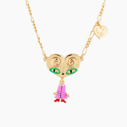 Aunty Palmier Pendant Necklace