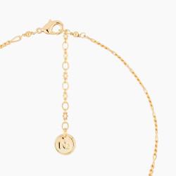 Pink flower and pearls bracelet