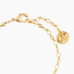 Bracelets Originaux Bracelet Chat Blanc Et Marguerite50,00€ AMNA201/1N2 by Les Néréides