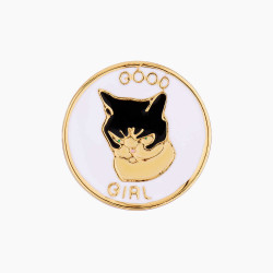 Good Girl Cat Pin's