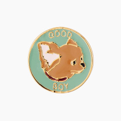 Chihuahua Good Boy Pin's