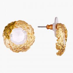 Boucles D'oreilles Tiges Boucles D'oreilles Tiges Couronne De Feuilles De Chênes70,00€ AMEF105T/1Les Néréides