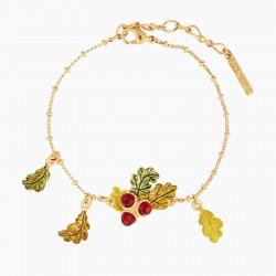 Bracelets Charms Bracelet Charm's Glands Et Feuilles De Chênes110,00€ AMEF205/1Les Néréides