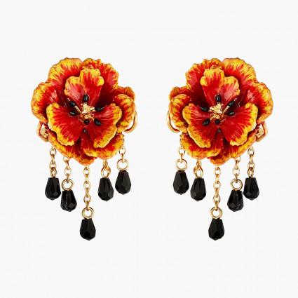 Boucles D'oreilles Pendantes Boucles D'oreilles Tiges Coquelicot Californien160,00€ AMBH101T/1Les Néréides