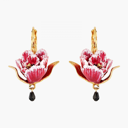 Boucles D'oreilles Dormeuses Boucles D'oreilles Dormeuses Tulipe Rose110,00€ AMBH102D/1Les Néréides
