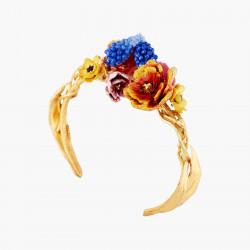 Winter Bouquet Bangle Bracelet