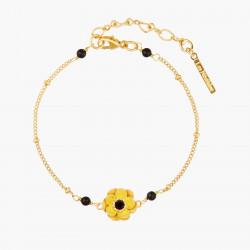 Japanese Anemone Thin Bracelet