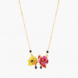 Colliers Pendentifs Collier Pendentif Tulipe Rose Et Anémone Du Japon130,00€ AMBH302/1Les Néréides