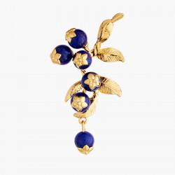 Boucles D'oreilles Pendantes Boucles D'oreilles Tiges Grappe De Myrtilles180,00€ AMCM103T/1Les Néréides