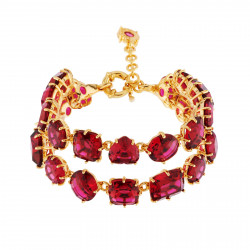 Bracelets Charms Bracelet Luxe Deux Rangs Grenadine