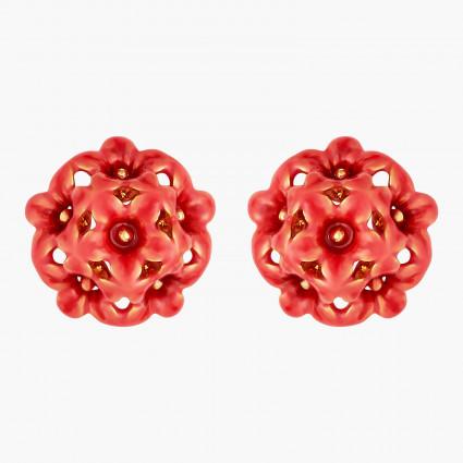 Boucles D'oreilles Tiges Boucles D'oreilles Tiges Fleurs Miraculeuses80,00€ AMCM106T/1Les Néréides