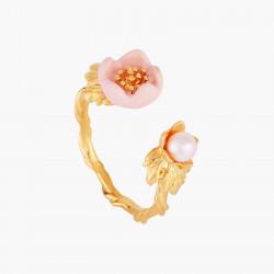 Bagues Ajustables Bague Ajustable Fleur Rose Et Goutte De Rosée95,00€ AMCM604/1Les Néréides