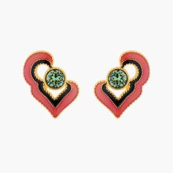 Boucles D'oreilles Tiges Boucles D'oreilles Tiges Cœur Été Indien70,00€ AMEI102T/1Les Néréides