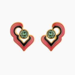 Indian Summer Heart Stud...