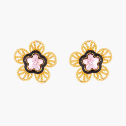 Indian Flower Stud Earrings