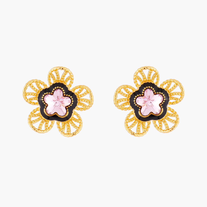 Boucles D'oreilles Tiges Boucles D'oreilles Tiges Fleur Indienne80,00€ AMEI103T/1Les Néréides