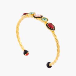 Indian Flower Bangle Bracelet
