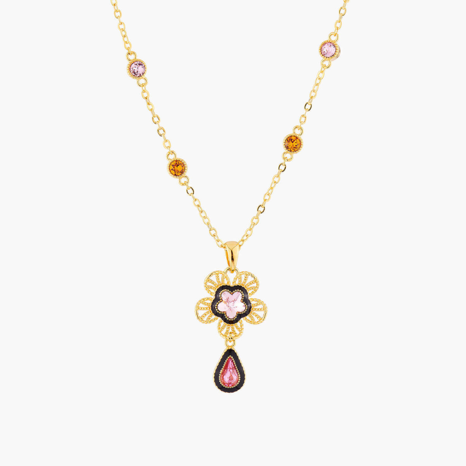 Colliers Pendentifs Collier Pendentif Fleur Indienne120,00€ AMEI302/1Les Néréides