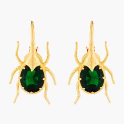 Beetle Hook Earrings