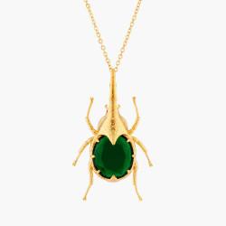 Collar Con Colgante Escarabajo