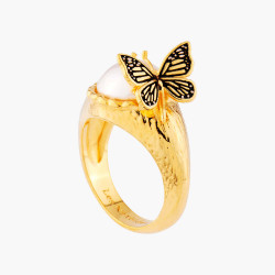 Cocktail Ring Butterfly and...