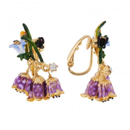 Flowered letter G necklace