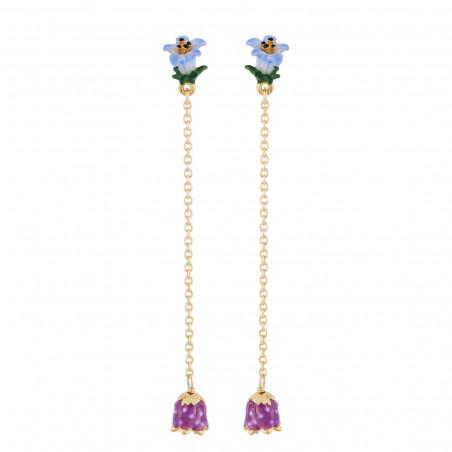 Bague couture fleurs et verre taillé