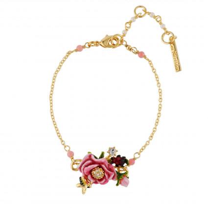 Bracelets Fins Bracelet Fleur Rose80,00€ AHPV202/1Les Néréides