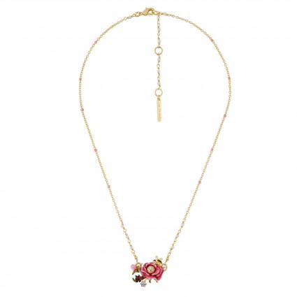 Colliers Pendentifs Collier Fleur Rose90,00€ AHPV310/1Les Néréides