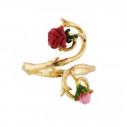 Bagues Ajustables Bague Ajustable Petite Rose Et Bouton65,00€ AHPV602/1Les Néréides