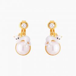 Boucles D'oreilles Clip Boucles D'oreilles Clip Chaton Et Perle130,00€ AMLA101C/1Les Néréides