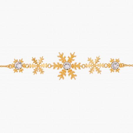 Flowered letter D necklace