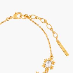 Bracelets Fins Bracelet Fin Flocons De Neige Dorés95,00€ AMSC202/1Les Néréides