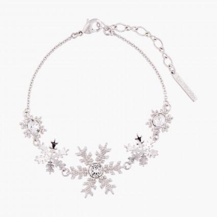 Bracelets Fins Bracelet Fin Flocons De Neige Et Cristaux95,00€ AMSC202/2Les Néréides