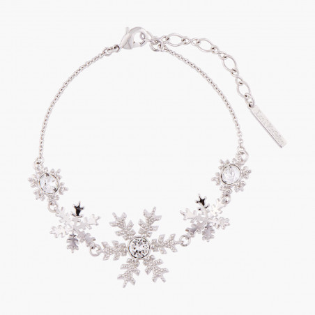 Flowered letter F necklace