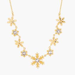 Golden Snowflakes Collar...