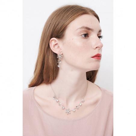 Flowered letter O necklace
