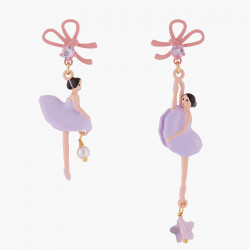 Lilac Ballerina With Ribbon...
