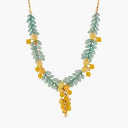 Flor De Mimosa Collar Pechera
