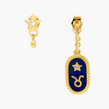 Boucles D'oreilles Creoles Boucle D'oreille Signe Astrologique Taureau80,00€ ANCS102T/1Les Néréides
