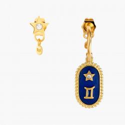 Boucles D'oreilles Creoles Boucle D'oreille Signe Astrologique Gémeaux80,00€ ANCS103T/1Les Néréides