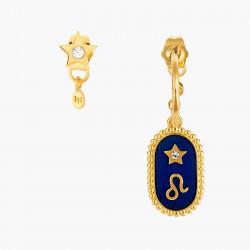 Boucles D'oreilles Creoles Boucle D'oreille Signe Astrologique Lion80,00€ ANCS105T/1Les Néréides